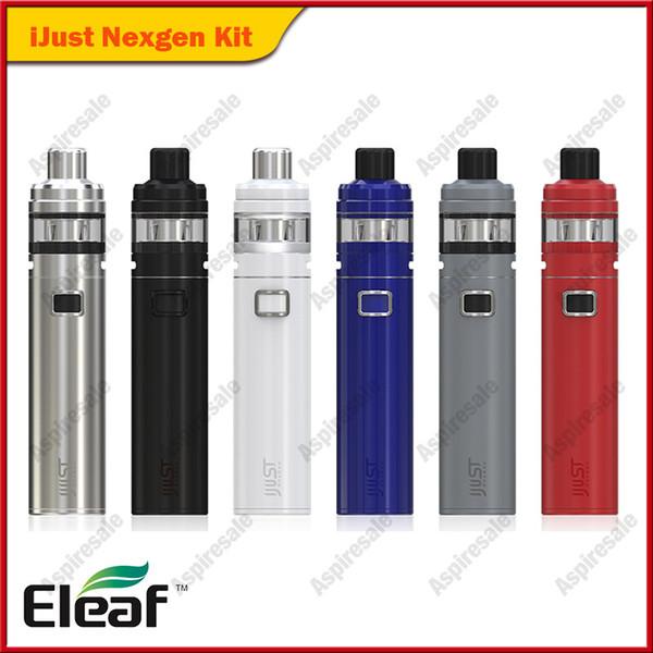 Eleaf iJust NexGen Starter Kits 50W Built-in 3000mAh Battery 2ml NexGen Tank 100% Original iJust NexGen Vape Pen