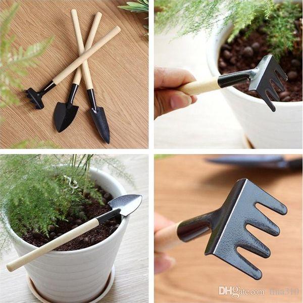 Mini-Garten-Werkzeug-kleine Schaufel-Rake Multifunktionsgartenbau-Werkzeug-Haushaltsanlagen brechen Schaufel 40pcs