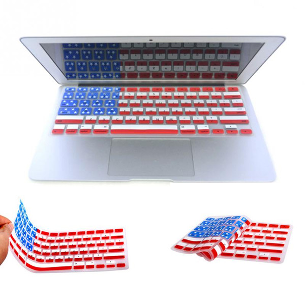 Ultra-Thin Silicone Functional Silicone keyboard cover for Macbook Air Pro Retina 13 15 17 Film Skin