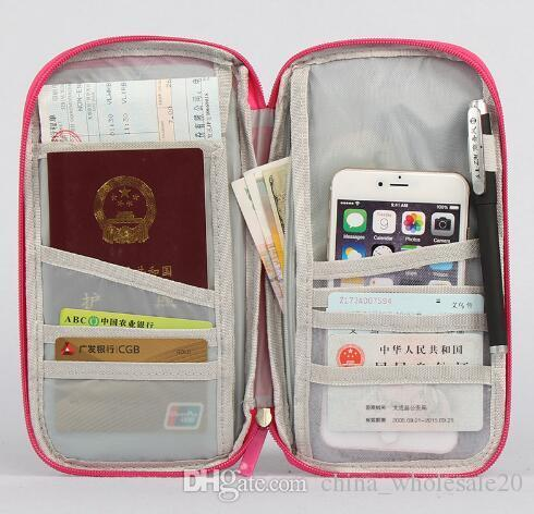 Free Shipping Travel Passport Cover Wallet Travelus Multifunction Credit Card Package ID Holder Storage Organizer Clutch Money Bag