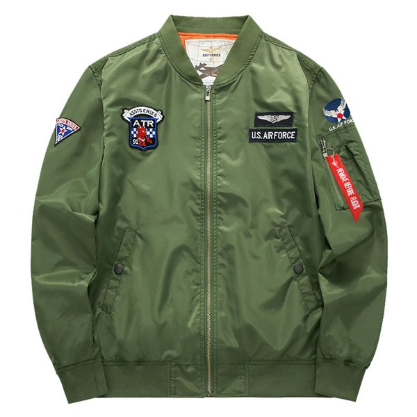 Airborne Flight Tactical Bomber Jacket Men  Motorcycle Pilot Fashion Style Jacket Plus Size 5XL 6xl Clothes