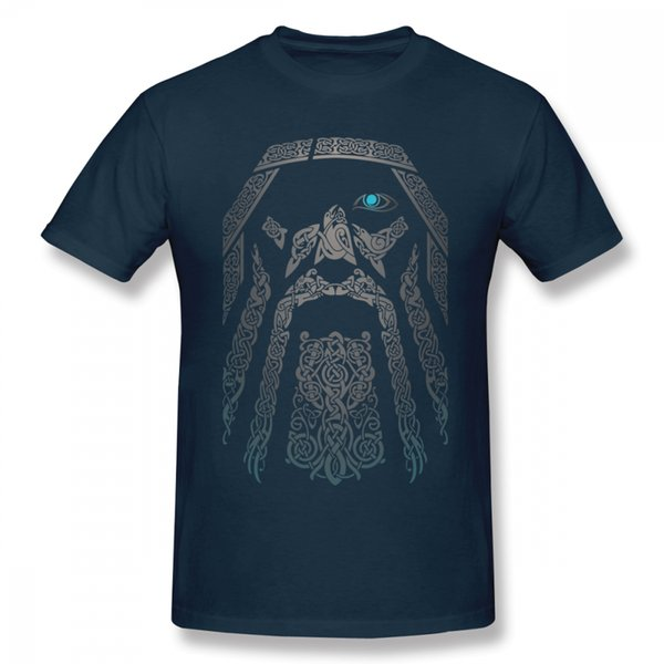 For Male Vikings T Shirt Summer T-shirt Hot Sale New Arrival Top Design New Arrial Fashion Tees Casual 100% Cotton