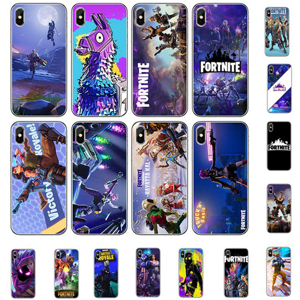 49 Designs Cellphone Case for iPhone XS MAX XR X 8 Huawei Mate 20 Lite Fashion FPS Game Shockproof TPU Phone Shell