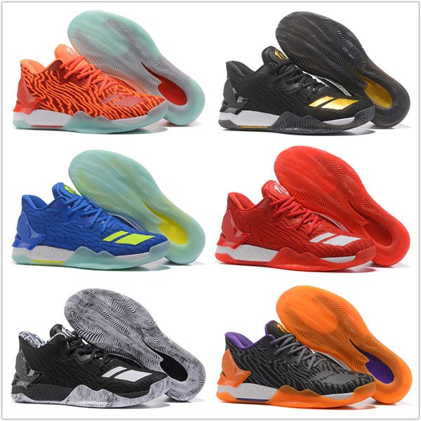 42665c91c9c8 Wholesale MENS 2018 New Colors D Rose 7 Low Englewood Boot Men Basketball Shoes  Derrick Oreo BHM Bruce 7s Casual Sports Sneakers