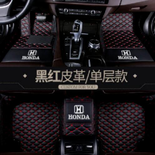 best selling Details about For Honda-City-Civic-HR-V-CR-V-Accord-A-Crosstour-Fit-Odyssey car floor mat