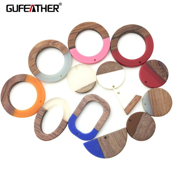 GUFEATHER M159,jewelry making,wood acrylic earrings,jewelry findings,charms,hand made,earrings accessories,diy pendant jewelry