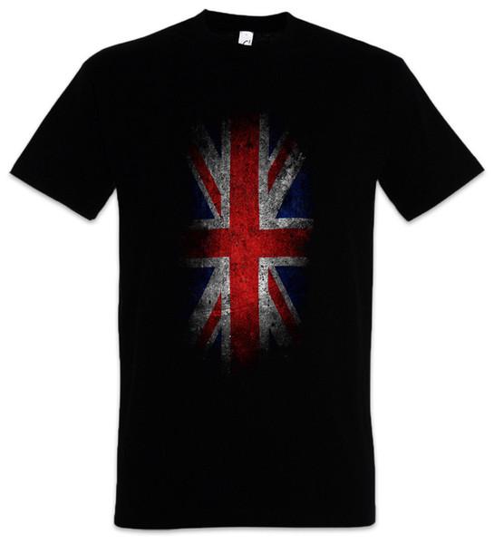 T-SHIRT VINTAGE UK UNION JACK FLAG - England Fahne S M L XL XXL XXXL T-Shirt Funny free shipping Unisex Casual