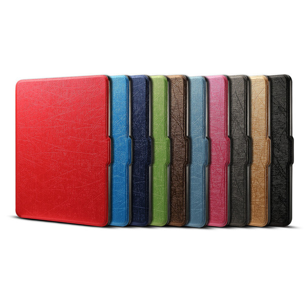 Smart Cover Flip Case For Amazon Kindle Paperwhite 1 2 3 899 958 6'' Tablet PC Cases Anti-knock Shockproof Voltage PU Leather Cover House
