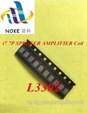 L3302 pour iphone 7 7plus SPEAKER AMPLIFIER Coil IC puce sur la carte mère