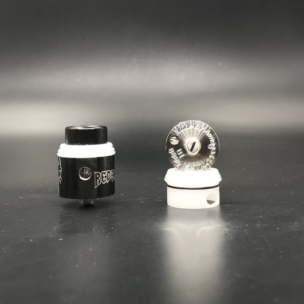 Redemption RDA Clone Replaceable Dripping Atomizers 24mm RDAS Apocalypse Rapture style posts Removeable negative post Vape 4 Colors DHL