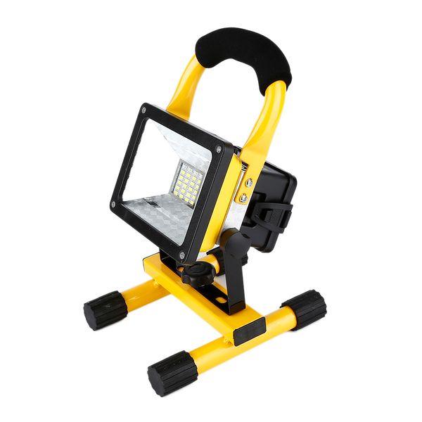Wholesale-Waterproof 1000lm Rechargeable Flood Light Portable Outdoor Emergenency Light Garage Lamp Construction Site Spotlight