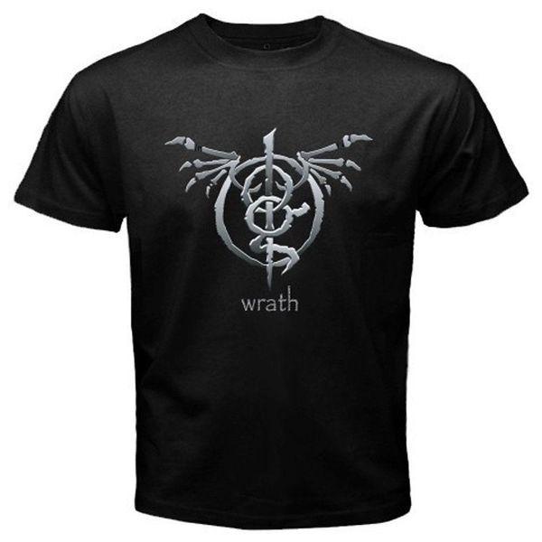 New Lamb of God Wrath Album American Metal Band Men's Black T-Shirt Size S-3XL