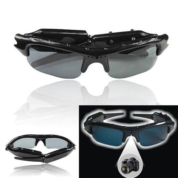 Unisex Smart Digital Camera Sunglasses HD Glasses Mountain Bike Riding Sunglasses Eyewear DVR Video Recorder Insertable SD Card