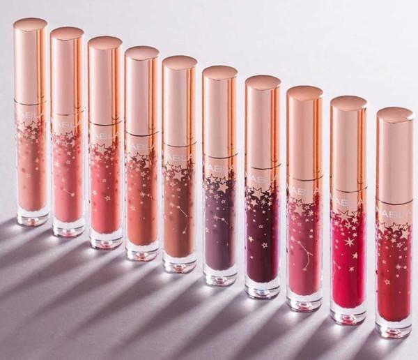 2018 10 Color Hot Selling NABLA Starlight Matte Lipstick Long Lasting Labial Matte Makeup Lip Stick Beauty Make Up Wholesale