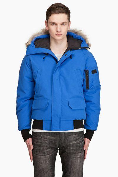 Men's Bomber Jacket Chilliwack Real Fur Hooded Short Parka Puffer Down Jacket Outdoor Blazer Coat Outdoor hiking overcoat