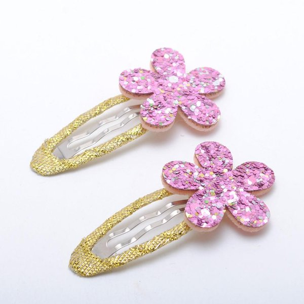 C pink Hairclips
