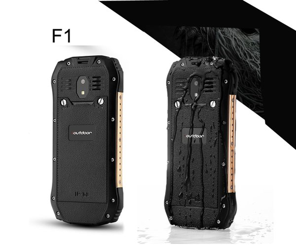 F1 Mobile phone ioutdoor F1 GSM Dual Sim CellPhons 2.4Inch 1700 IP68 Waterproof FM Unlocked Rugged Mobile Phone Russia