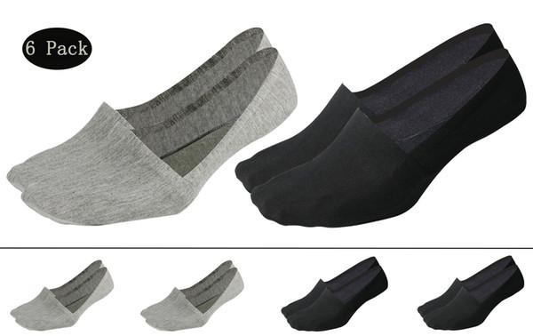 10 Paires Hommes Coton No-Show Invisible Chaussettes Mocassin Bateau Cheville Low Cut antidérapantes
