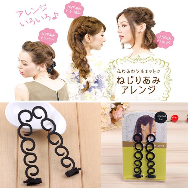 New Hair Tools Accessories Women'S Woven Hairstyles Curly Fashion Twisted  Round Hair To Make Scorpion MR0227LZ Little Black Girl Hair Accessories  Hair