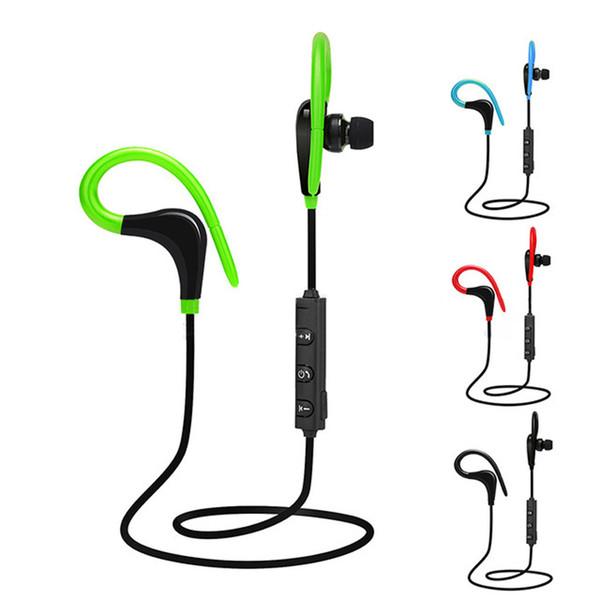 Sports wireless Earphones In-ear bluetooth Handfree in ear earbuds ear-hook for iphone 7 google pixel 2 auriculares