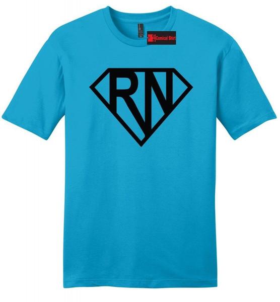 Super RN Super Krankenschwester Mens Soft T-Shirt Nettes Krankenschwester-Freundin-Frau-Geschenk-T-Stück
