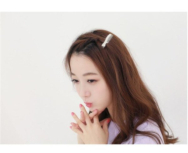 Hot style selling female 1005 temperament comb duckbill clip Bang clip hair small adorn article hair clips