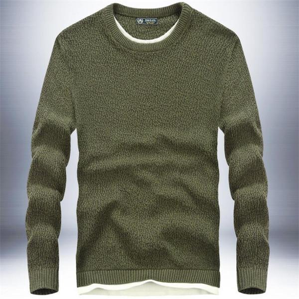 Suéter de punto completo para mujer, ropa interior de punto, sólido suéter recto de moda masculina, universidad masculina otoño / invierno noble suéter 2018