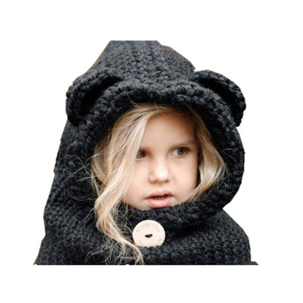 2019 Winter Warm Girl'S Hat Woolen Hat Fox Children Caps Protect Ears Baby  Hats Scarf Neck Wrap Set High Quality From Juyao02, $12 18 | DHgate Com
