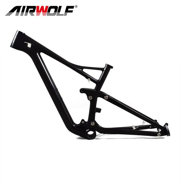 Factory design 29ER carbon suspension frame,Top quality and good price 29ER full carbon fiber frame,suspension carbon mtb frame
