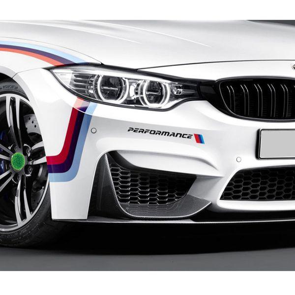 2019 M Performance Front Bumper Decal Sticker Reflective M Stripe Side Sticker For Bmw 1 3 5 7 Series X3 X5 E46 E90 E39 F10 F20 F30 From