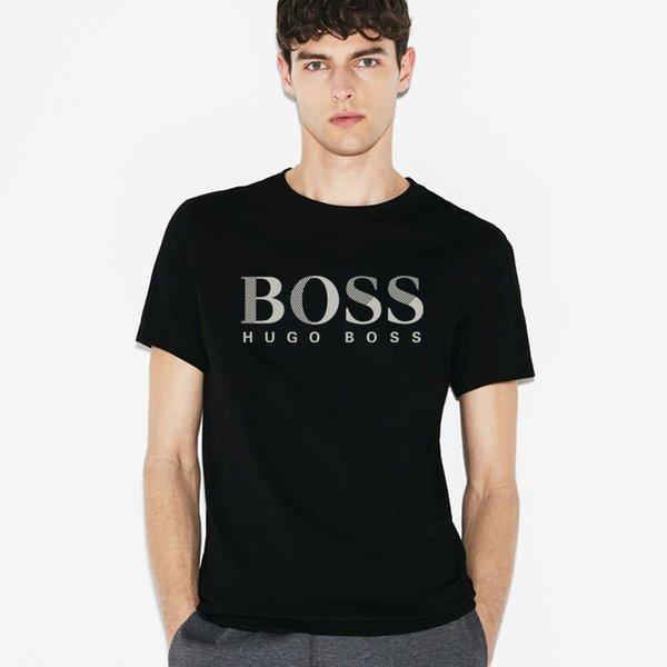 2018 горячая весна и осень мужская с коротким рукавом футболки, высокое качество ал