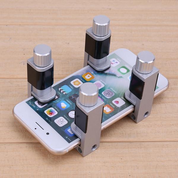 Universal de 4 piezas Juego de Protable de reparación de teléfonos clip plástico de la pantalla LCD de goma de reparación de teléfonos de fijación de la abrazadera de la tableta de herramientas móviles
