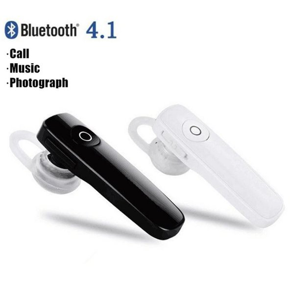 top popular M165 Hot Wireless Stereo Bluetooth Headset Earphones mini 4.0 wireless bluetooth handfree universal for all phone 2019