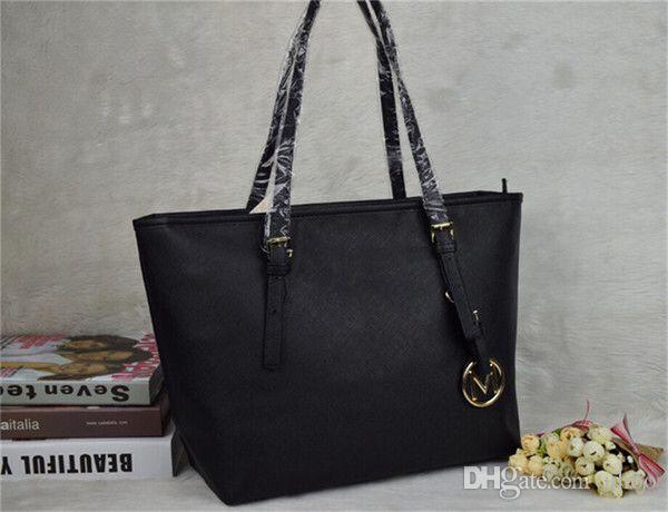 2018 Fashion brand fashion women bags lady PU leather handbags famous Designer brand bags purse shoulder tote Bag female 6821