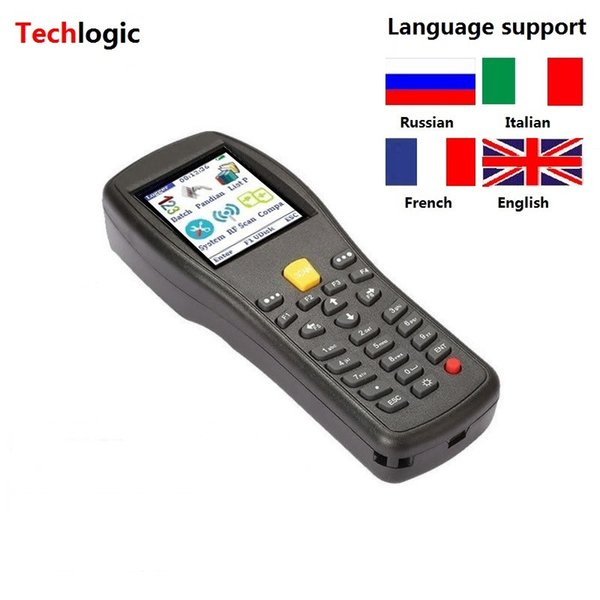 best selling Techlogic X3 Wireless Barcode Scanner Handheld Terminal PDA Supermarket Warehouse Laser Bar Code Gun Inventory Barcode Scanner