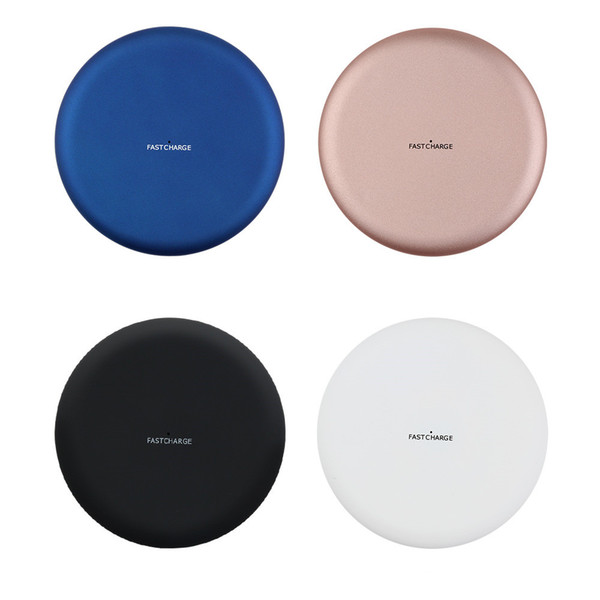 Universal 5V2A Qi wireless charger qi Charging seat base with For Samsung S7 Edge S8 Plus S9 S9 plus Iphone 8 X XS max XR with Retail box