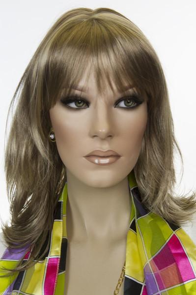 Light Brown Blond/Light Golden Blond Blonde Long Medium Skin Top Straight Wigs