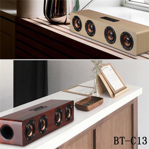 El mejor altavoz inalámbrico de la barra de sonido del teatro casero de Bluetooth del mejor precio con el audio de 3.5mm para el teléfono TV elegante
