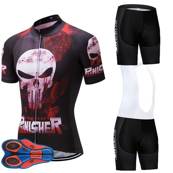 Pinisher UCI Team Radtrikot 9D GEL PAD Bike Shorts Set MTB Herren Sommer Ropa Ciclismo Fahrradbekleidung Pro FAHRRAD Maillot Culotte