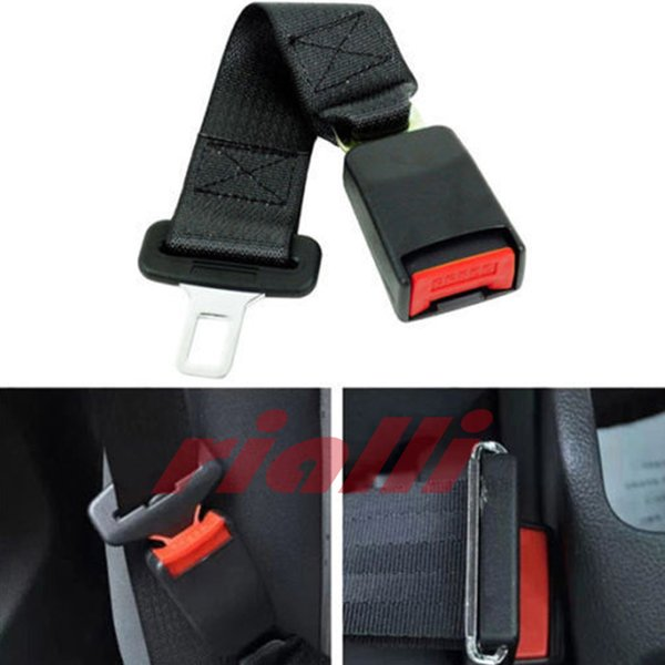 Wholesale Universal 36cm Adjustable Car Auto Safety Seat Belt Clip Seatbelt Extension Extender Strap Buckle For Pregnant Women Fat Man