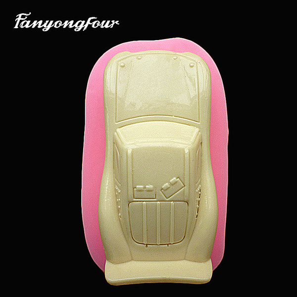 3D Car Cake Mold Silicone Mold Chocolate Gypsum Candle Soap Candy Mold Kitchen Bake