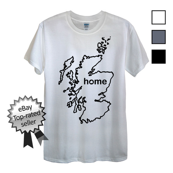 SCOTTISH SCOTLAND FLAG PERSONALISED KIDS T-SHIRT GREAT GIFT FOR ANY CHILD
