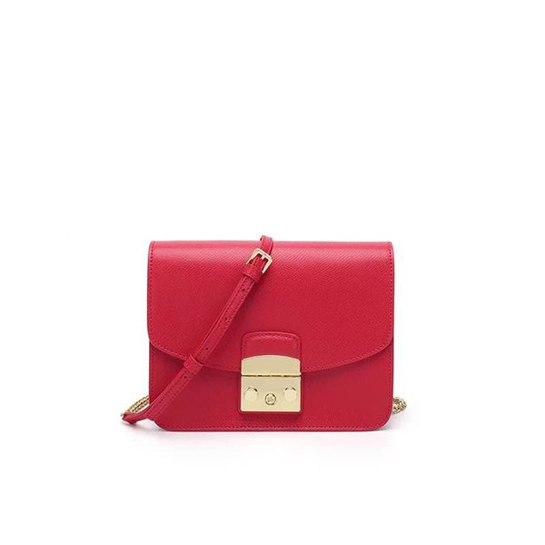 Fashion Women bag Metropolis Medium Bag Ladies Leather Women Messenger Bags Handbags Women Famous Brands Fashion Crossbody Bags 21cm