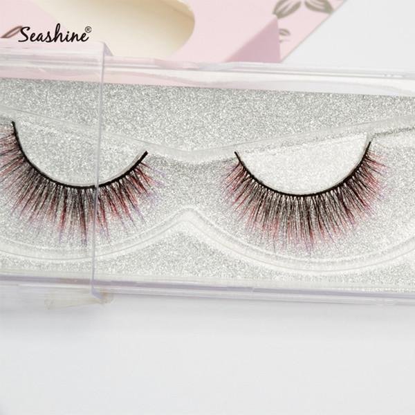 Seashine Permanent False Eyelashes 3D Mink Lashes New Design Mink Fur Eyelashes 3D Mink Lashes 100% Fur Made False Eyelashes