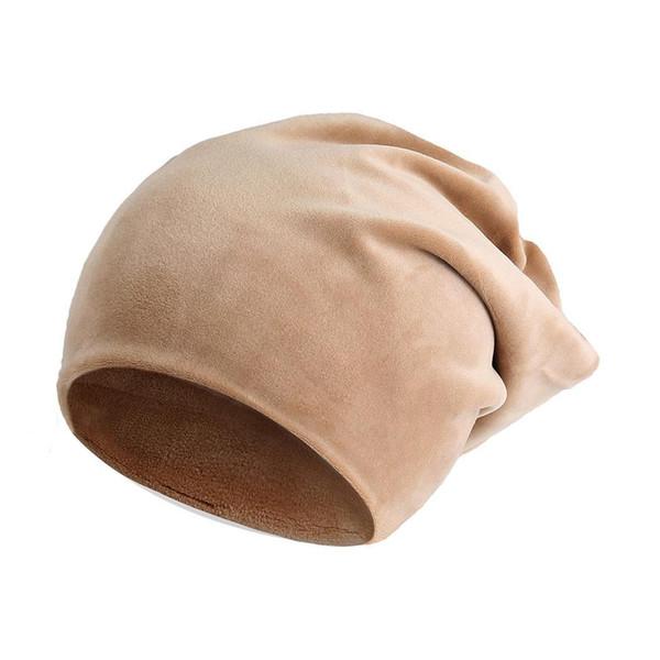 Winter red Khaki wash only Fall gray Stretchy Wine Dark Black Hand Solid Winter Unisex Warm Hats Soft Headwear Fall None