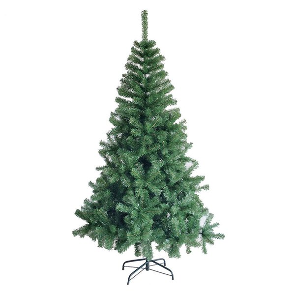 6 Ft Christmas Tree Eco-friendly Artificial Pine Tree 800 Tips with Metal Stand Christmas Decorations Merry Gift