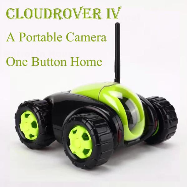 NEW RC Auto mit Kamera 4CH Wifi Tank Cloud Rover Portable IP-Kamera Haushaltsgeräte IR-Fernbedienung One Button Home FSWB