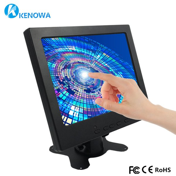 8 Inch 1024*768 IPS Industrial LCD Capactive Touch monitor HDMI HD AV VGA Input Screen Computer Monitor PC Display for Raspberry