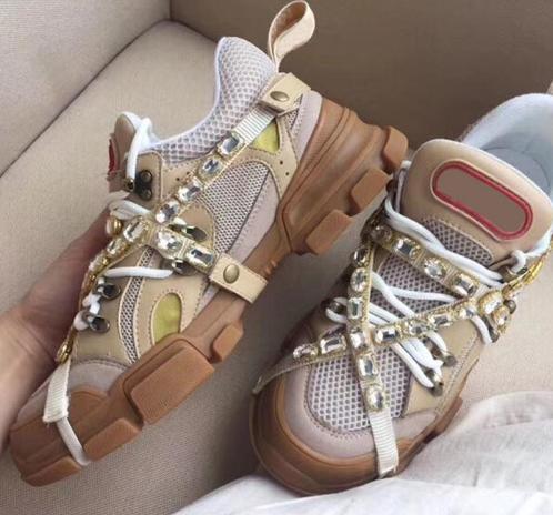 Nuevo diseñador sneaker Flashtrek sneaker con mujeres desmontables hombres entrenadores zapatos de escalada para hombre botas de senderismo al aire libre q882