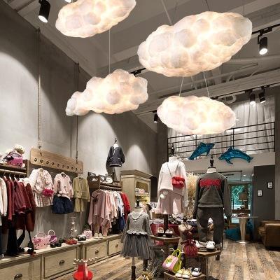 Jess Creative nuages blancs flottants, lustre de décoration à la maison les nuages la lumière KTV bar restaurant Art Pendant plafond